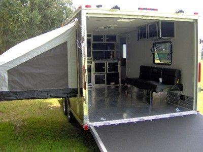 Wonderful Enclosed Trailer Camper 29  DhwCor