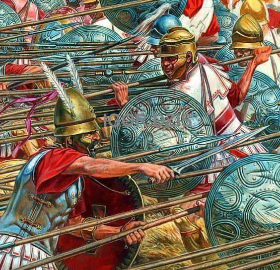 IGOR DZIS BATTLE PAINTING: The Battle of Sellasia 222 BC ...