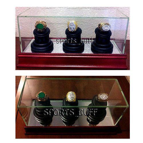 Small Glass Jewellery Box (TY615) Engagement ring presentation - sales presentation