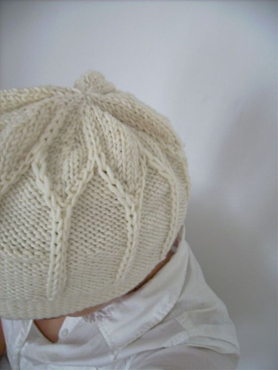 blossom hat in cream