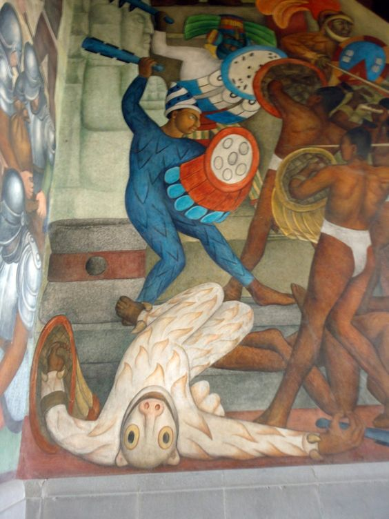 Mexico city mexico and diego rivera on pinterest for Diego rivera famous mural