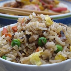 Vegetarian fried rice, Fried rice and Rice on Pinterest