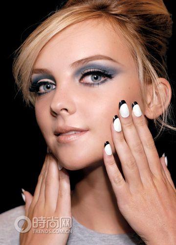 great makeup & great nails