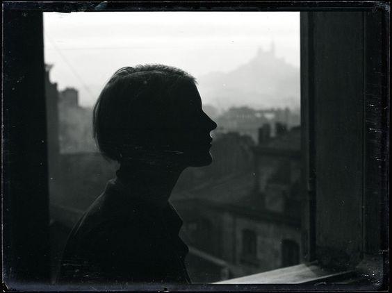 Man Ray (1890 - 1976) - Silhouette de Lee Miller, vers 1930