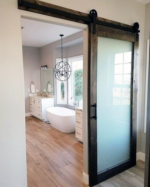 15++ Frosted glass sliding door trends