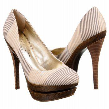 Jessica Simpson Colie Shoes (Sand Multi) - Women's Shoes - 8.5 M