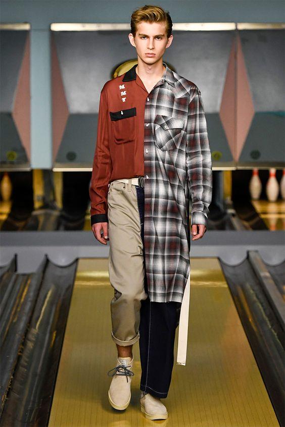 Mihara Yasuhiro Spring Summer 2017 Primavera Verano Menswear Trends Tendencias Moda Hombre