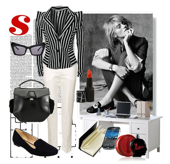 Lucines Blog office style