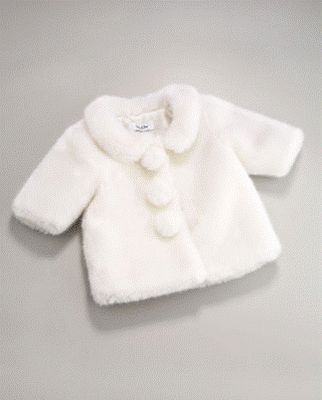 Baby Girls Down Padded 'Baroque Dragon' Coat | Coats Baroque and