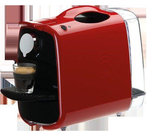 Delta Q Qosmo Portable Espresso Coffee Maker Capsule Machine Gloss Red Http Nespressoshop Net Delta Q Q Coffee Maker Coffee Machine Manual Coffee Grinder