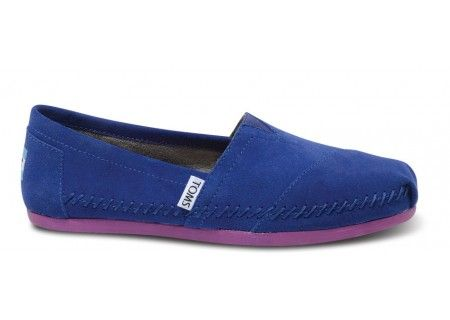 With every pair you purchase, TOMS will give a pair of new shoes to a child in need. One for One.: Fashion Dreams, Womens Moccasin, Toms Cobalt, Toms Shoes, Womens Shoes, Moccasin Classics, Cobalt Sitka, Sitka Womens
