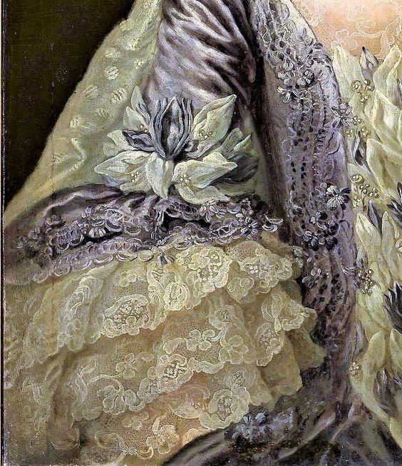 Portrait of A Lady by Anna Rosina de Gasc