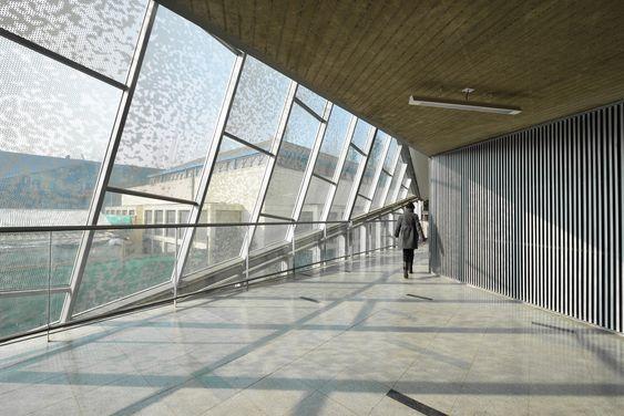 Salas de Aulas do Campus Juan Gomez Millas, Universidade do Chile / Marsino Arquitectos Asociados