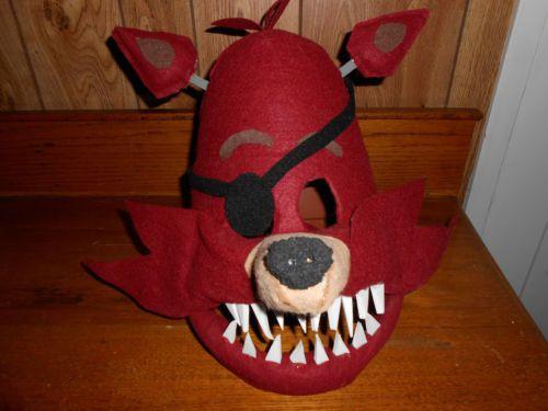 Fnaf foxy childs halloween mask five nights at freddys more fnaf foxy