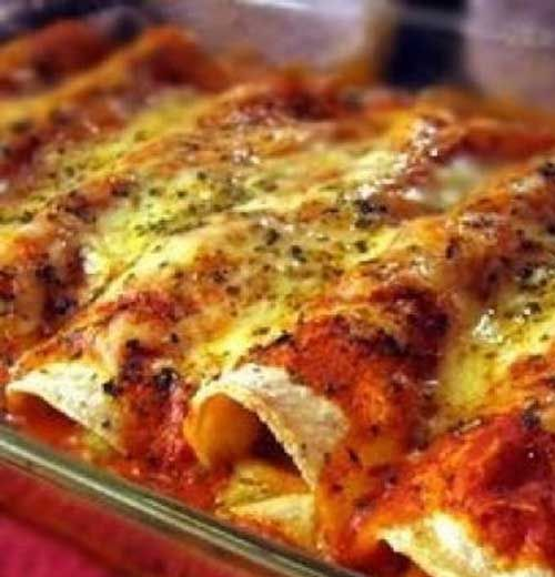 Recipe for Spicy Chicken Enchiladas - Comida Mexicana – Enchiladas.