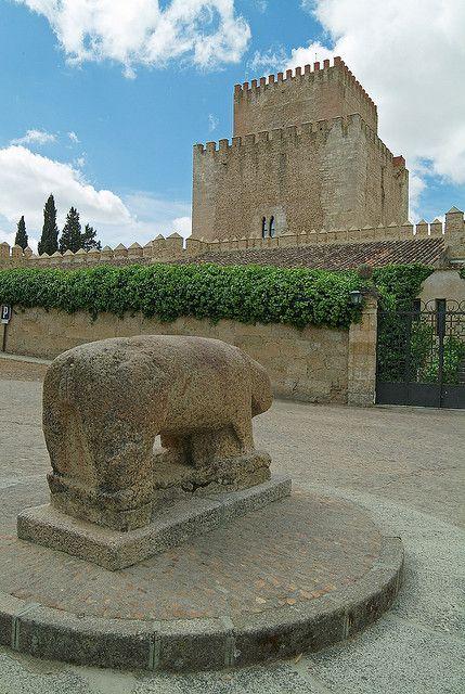 Castillo de Enrique II de Trastámara. Ciudad Rodrigo Salamanca