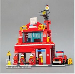 HOT ! Fire Station Assembly Blocks Toy Kit Learning Toys Fireman Fire Headquarters Blocks Assembly Fireheadquarters Online with 60.0/Piece on Andrewknight007's Store   DHgate.com