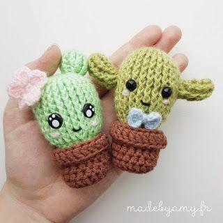 Mi pequeño cactus | Cactus de ganchillo, Llaveros a crochet ... | 320x320