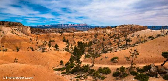 Seussical landscape along the Queen's Garden Trail at Bryce Canyon