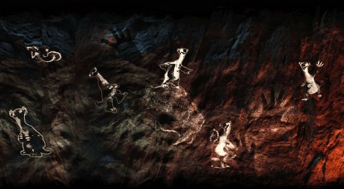 Mesolithic people were able to speak? How will it look like in the game?