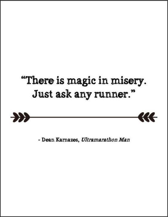 Running motivation quote gift for runner by JenniferDareDesigns: