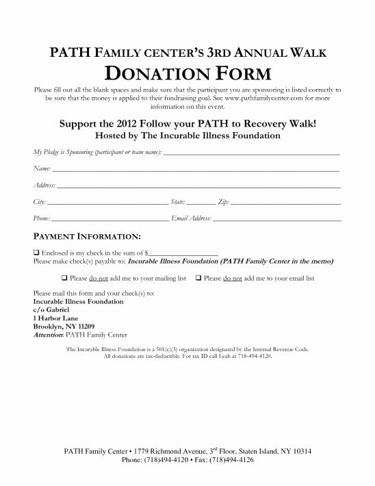 Donation Pledge Form Template Lovely 36 Free Donation Form Templates In Word Excel Pdf Donation Form Words Templates