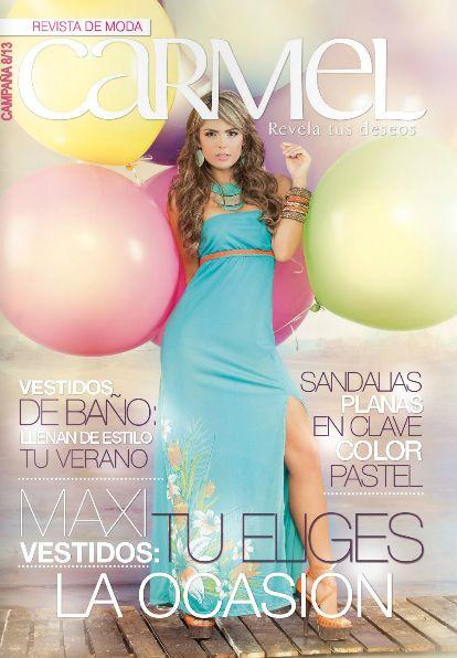catalogo carmel moda campaña 8 2013