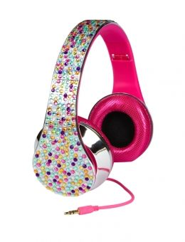 Justice Toys For Girls Silver Bling Headphones Girls