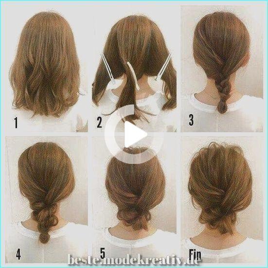 46 Aussergewohnlich Schone Diy Frisuren Die Sie In Kurzester Zeit In Eine Diva Verwandeln In 2020 Shoulder Length Hair Hair Styles Easy Hairstyles