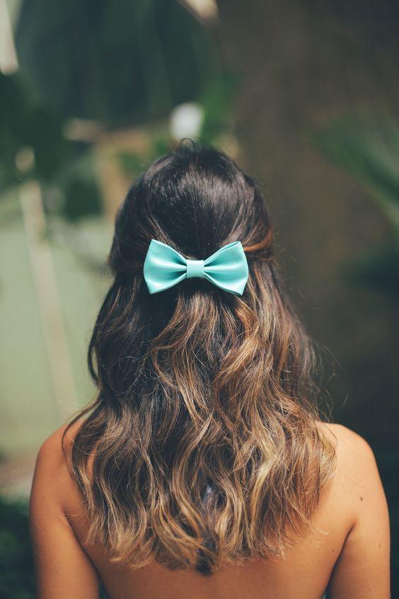 Os laços de cabelo da Sweet Ties