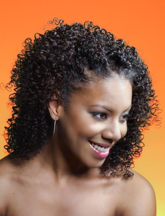 Fine Kinky Curly Hairstyles Kinky Curly And Curly Hairstyles On Pinterest Hairstyles For Women Draintrainus