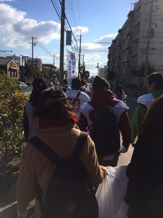 CLEAN UP ACTION2014の模様です。