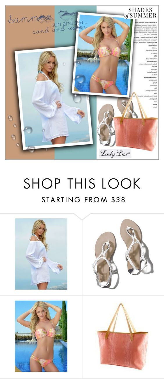 """""""Summer daze with LadyLuxSwimwear"""" by ladyluxswimwear ❤ liked on Polyvore featuring Abercrombie & Fitch"""