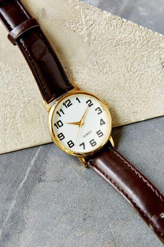 Classic Menswear Watch - Urban Outfitters