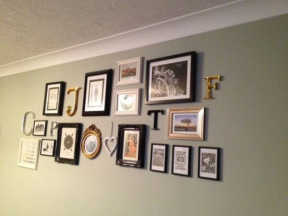 my feature wall on farrow and ball mizzle painting projects pinterest feature walls. Black Bedroom Furniture Sets. Home Design Ideas