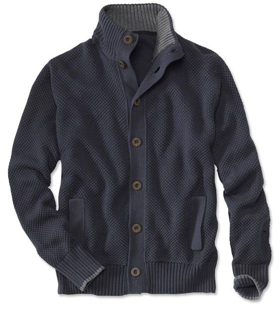 Just found this Mens Knit Cardigan - Honeycomb-Knit Cardigan -- Orvis on Orvis.com!