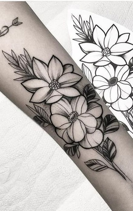 Livestyle Tattotrends Fotos No Instagram Tatuajes Florales