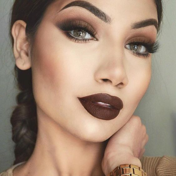 @kyliecosmetics: @makeupbyalinna #truebrown #KYLIECOSMETICS: