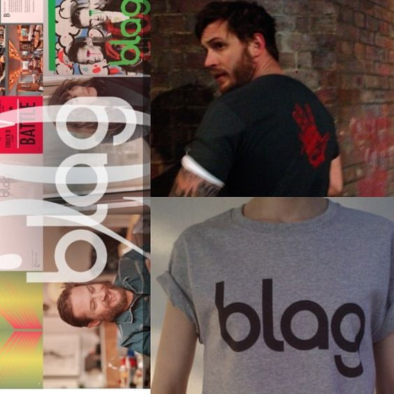 Ordered my Tom Hardy Shirt :) Weareblag.com. Get yours !!!