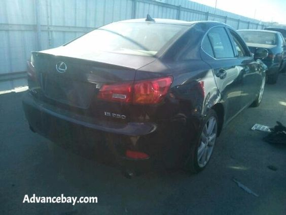 2007 Lexus IS250 on sale parts only parting out Advancebay Inc #880