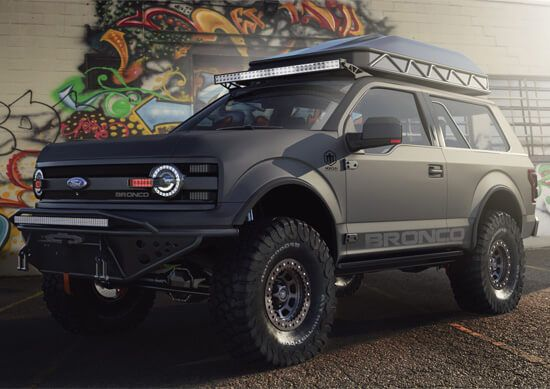 New Ford Bronco Offroad Rendering Ford Bronco Bronco Ford Suv
