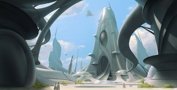 science fiction architecture - חיפוש ב-Google