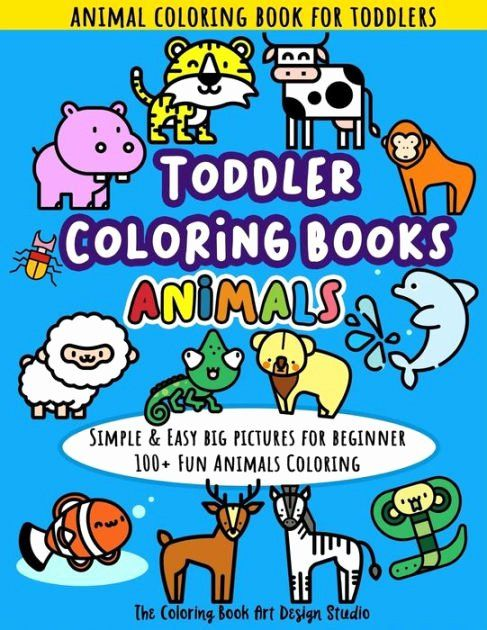 Coloring Book For Toddler Luxury Toddler Coloring Books Animals Animal Coloring Book For Toddlers Si In 2020 Animal Coloring Books Toddler Coloring Book Coloring Books