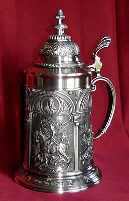 Albrecht Durer Most Famous Engraving   Albrecht Durer Beer Stein - Imported From Germany