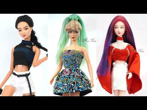Barbie Diy Youtube Barbie Dolls Diy Barbie Diy Barbie Top
