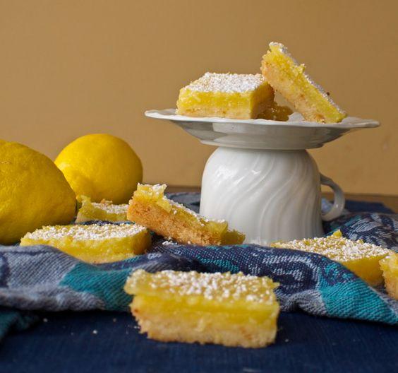 Light Lemon Squares!