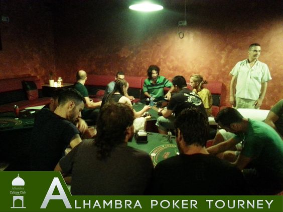 ALHAMBRA CULTURE CLUB  NIT DE #POKER