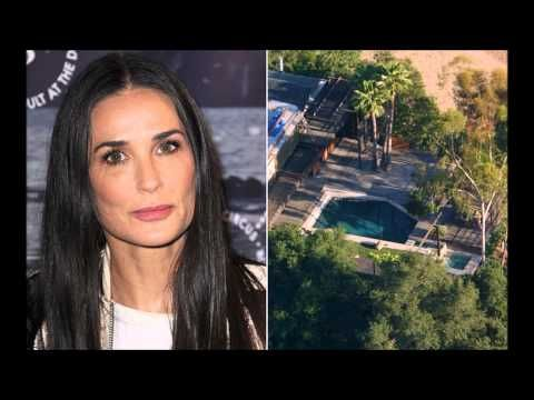 Demi Moore in 'Absolute Shock' Over Dead Man in Her Pool