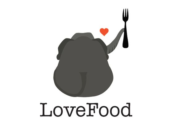 LOVE FOOD - Logo Design on Behance