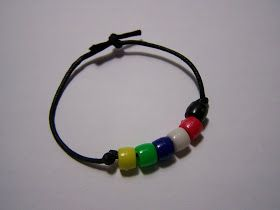 Salvation Bracelet Tutorial- turned into 7 principals. need to add purple for an…